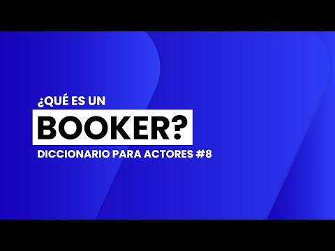 ¿Qué es un BOOKER?   📖🎬 DICCIONARIO para ACTORES #8