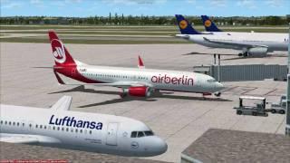 FSX Flight Munich to Palma de Mallorca