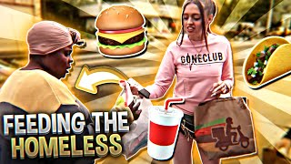 WOAH VICKY FEEDING THE HOMELESS GONE WRONG **MUST WATCH**