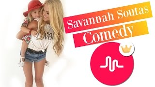 savannah soutas the best comedy musical ly compilation 2016