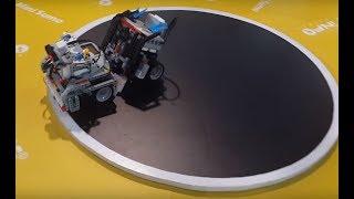 10 Perfect Sumo Fights - Lego EV3 Robot Sumo Wrestling BattleBot Challenge