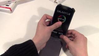 Чехол книжка для Samsung I9300 Galaxy S III обзор