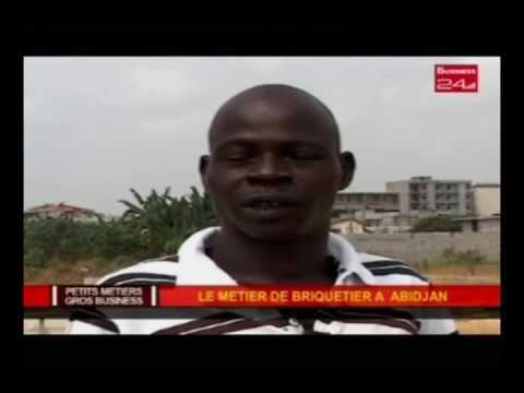 Business 24 / Petits métiers - Gros Business : Le metier de briquetier à Abidjan