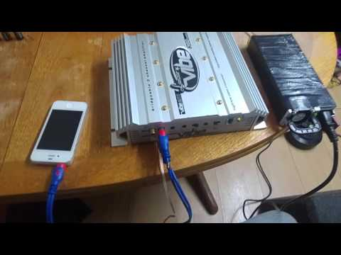 Car amplifier at home using Server Power Supply