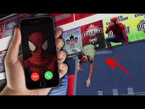 CALLING SPIDER MAN ON FACETIME AT 3 AM!! *HE'S REAL*
