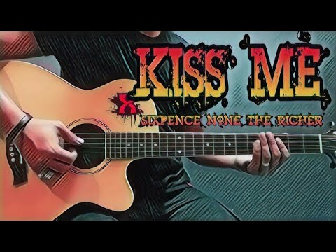 Kiss Me Sixpence None The Richer Guitar Cover With Lyrics