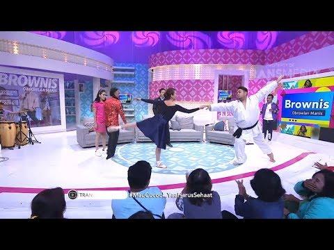 BROWNIS - Ivan Gak Mau Kalah Menari Balet (27/2/18) Part 2
