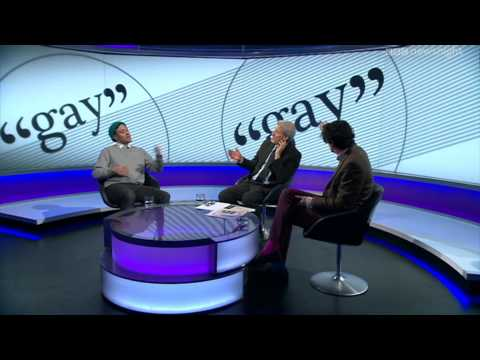 NEWSNIGHT:Will Young on children using the word 'gay'