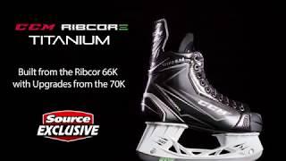 Source Exclusive CCM Ribcor Titanium Hockey Skates | Source For Sports