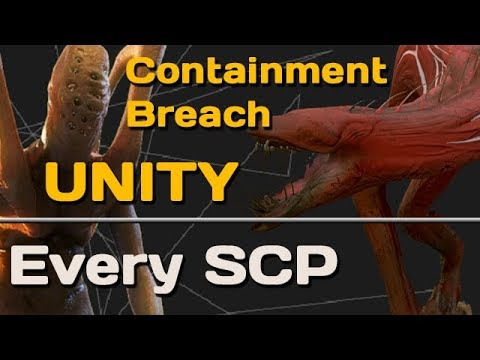 Every SCP in Containment Breach: Unity v0.5.7