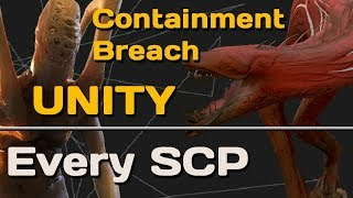 Every SCP in Unity v0.5.7