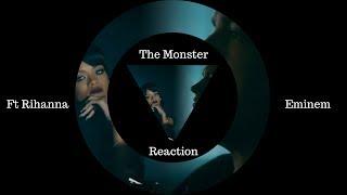 Eminem - The Monster ft. Rihanna - REACTION