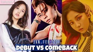 Baixar 2017 Kpop Comeback VS Debut || JAN - FEB