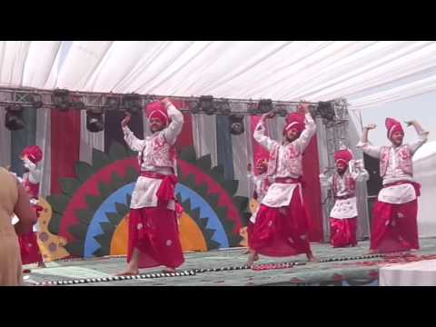 Veer khalsa bhangra team(YIET) at HEC 2013