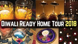 Diwali Ready House Tour-2018 | Home Decor Ideas On Budget | Real Homemaking