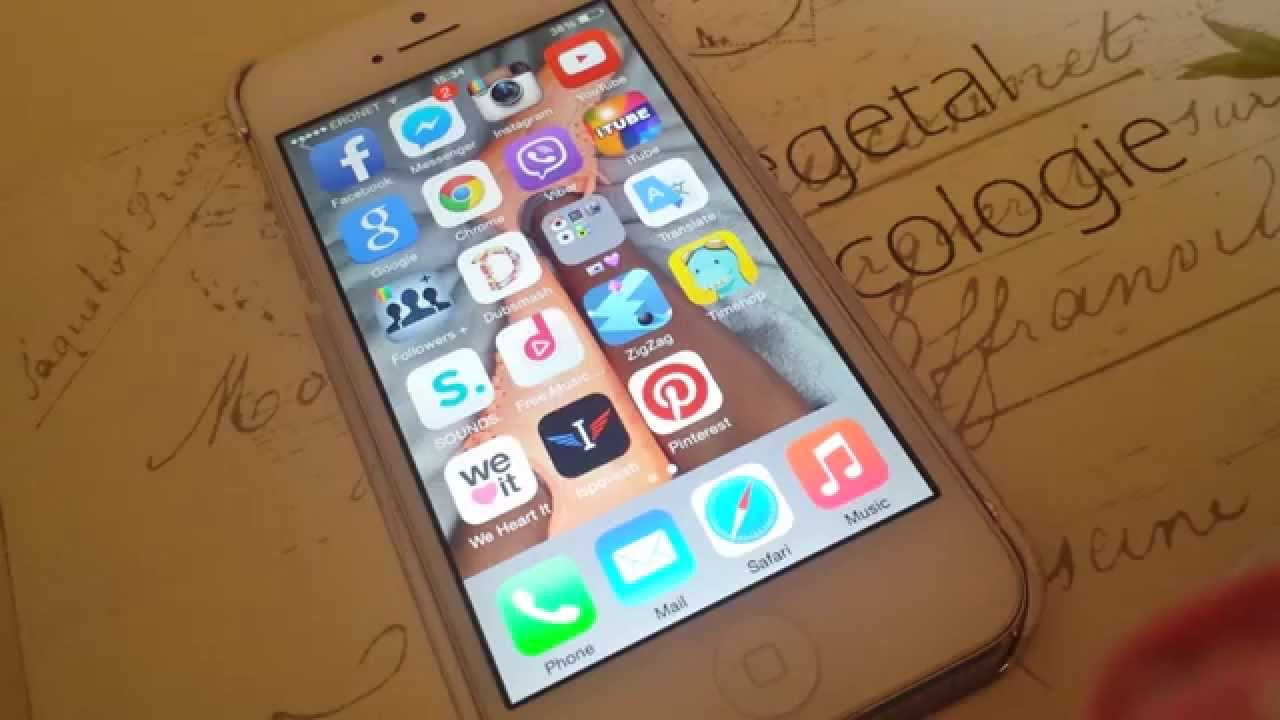 What on my phone -Sta se nalazi na mom telefonu | queen A - YouTube