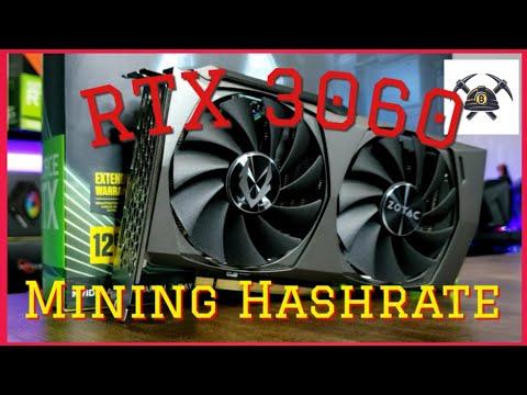 RTX 3060 Mining
