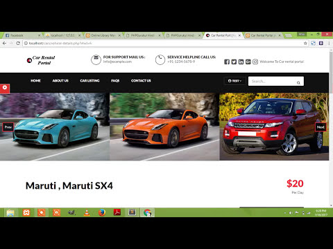 Car Rental Project in PHP and Mysql (Free Download)