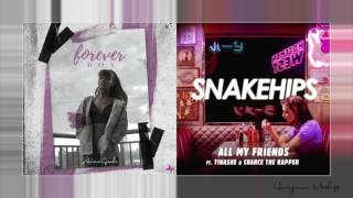 Forever My Friends [MASHUP] - Ariana Grande and Snakehips