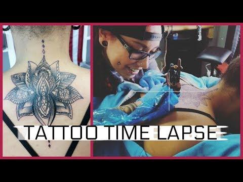 Tattoo Time Lapse- Lotus