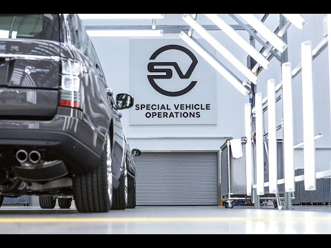 Jaguar Land Rover Special Vehicle Operations. New Technnical Centre, Coventry