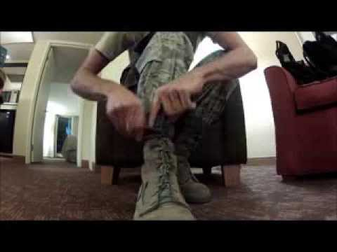 The Best Way to Tie Combat Boots