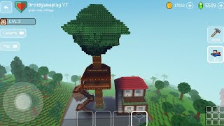 Tree House with Small Home - Block Craft 3d: Building Simulator Games for Free screenshot 5