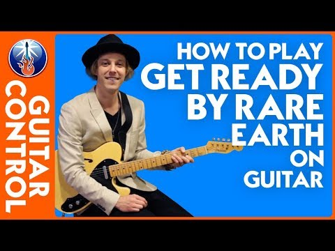 How to Play Get Ready by Rare Earth on Guitar - Get Ready Song Lesson