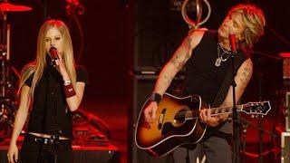 Johnny Rzeznik of Goo Goo Dolls, Avril Lavigne - Iris (Live from Fashion Rocks 2004)