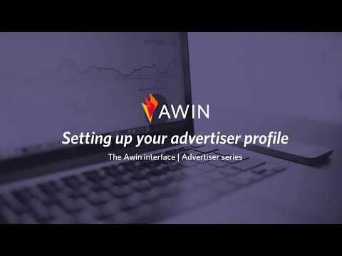 Setting up your Advertiser profile