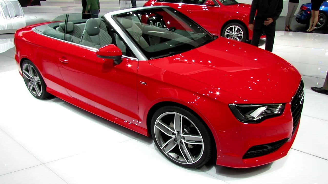 2015 Audi A3 Tfsi S Line Convertible Exterior And