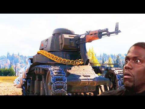 ТАНКИ Приколы, смешные МОМЕНТЫ в World Of Tanks Лайт #203