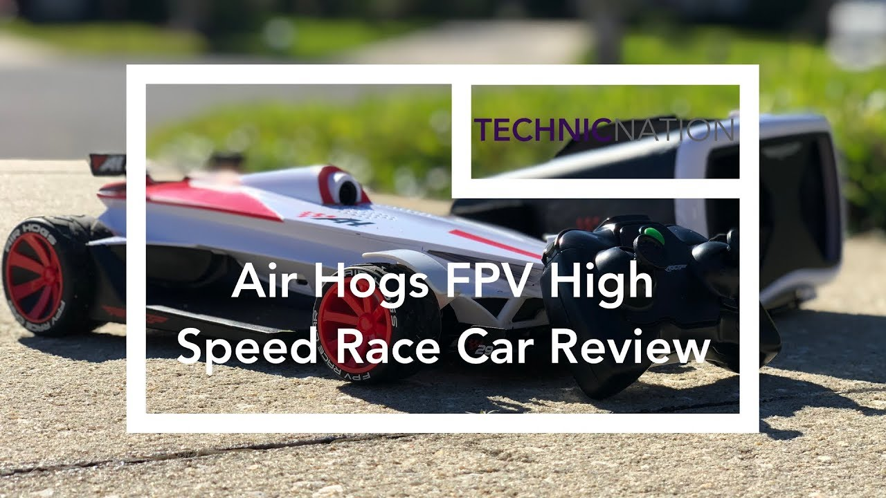 Air Hogs Fpv Speed Race Car Review Youtube