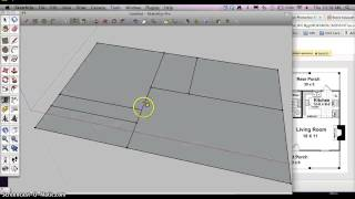 How to start a Architectural Floorplan in Google Sketchup thumbnail