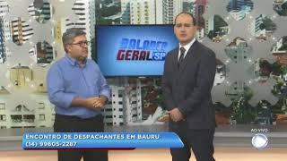 Despachantes de São Paulo realizam reunião em Bauru