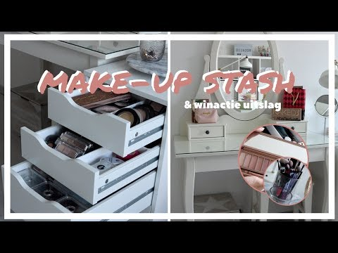 Make-Up Stash & Winactie Uitslag | R O S A L I E
