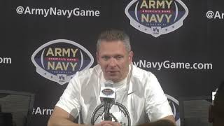 Army Football: Full Postgame Press Conference vs. Navy 12-9-17