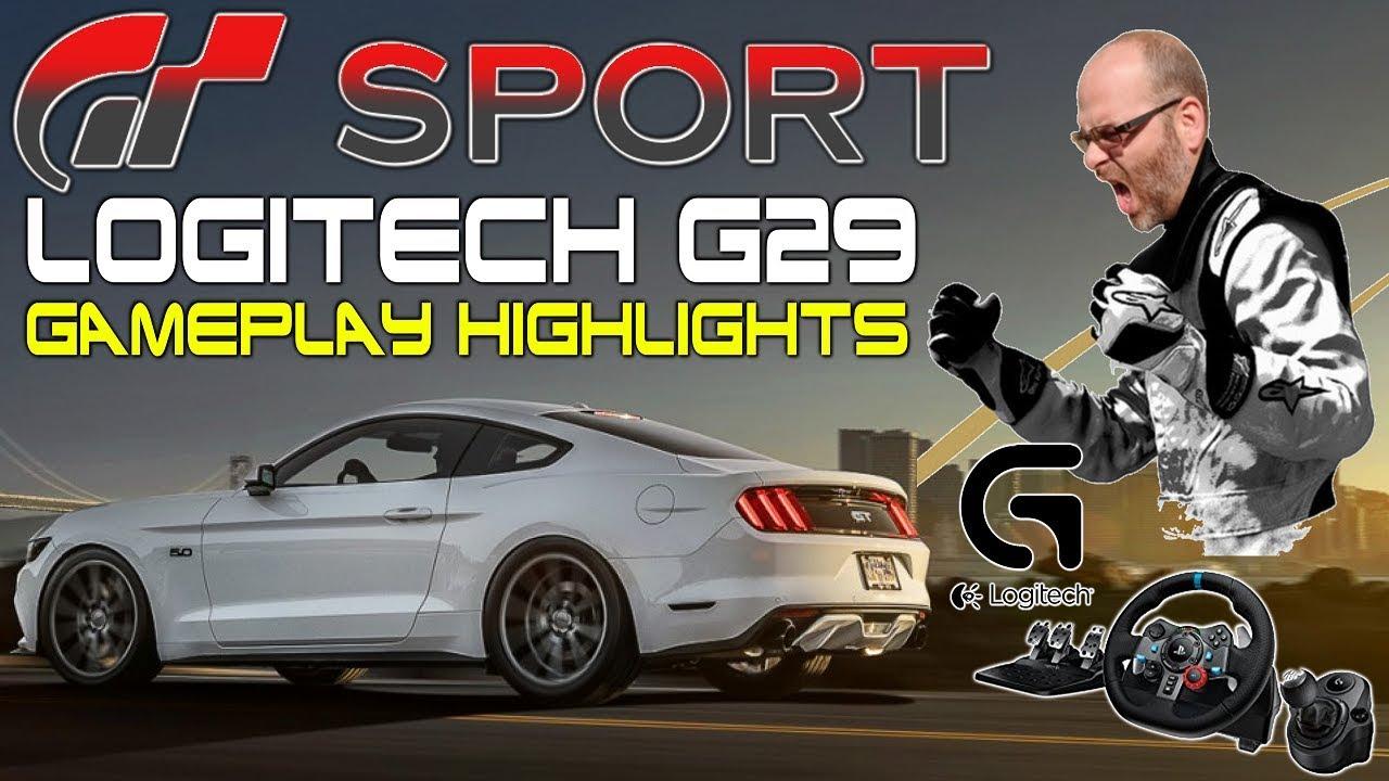 86d7b048f5d GRAN TURISMO SPORT w/Logitech G29 Racing Wheel + Shifter (Wheel Cam) [PS4]