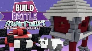 The Pandas!  | Build Battle | Minecraft Building Minigame