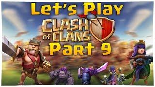 Let's Play Clash of Clans Part 9 | '' Alle Mauern auf lvl 3 in Zeitraffer :D'' | MobileThunder
