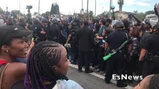 Packed Streets For Nip Victory Lap Crenshaw & Slauson EsNews Boxing