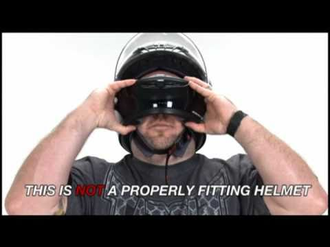 Proper Motorcycle Helmet Fitment presented by J&P Cycles.