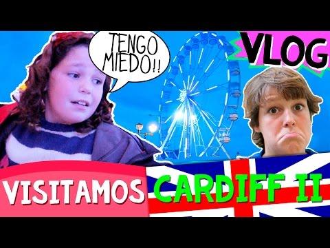 VLOG FAMILIAR - Visitamos CARDIFF (II) * ¡¡Graban los NIÑOS!! * MIEDO en la NORIA, compras y más!