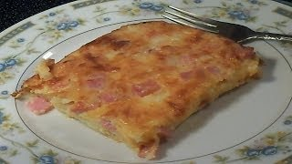 Ham And Cheese Quiche - E155