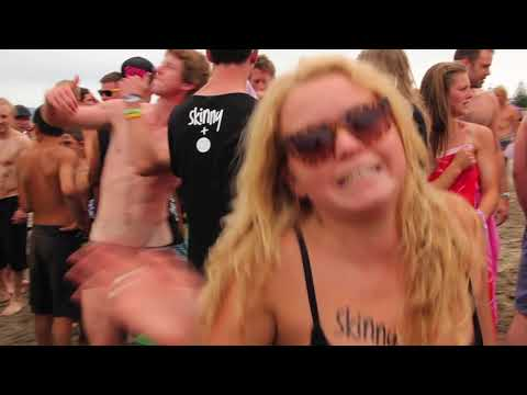 ZM and Skinny present the BW Skinny Dip - Guinness World Record Gisborne 2012(UnCensored)