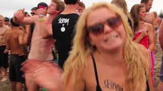 bw skinny dip guinness world record attempt gisborne 2012 uncensored