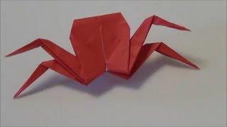「かに」折り紙2