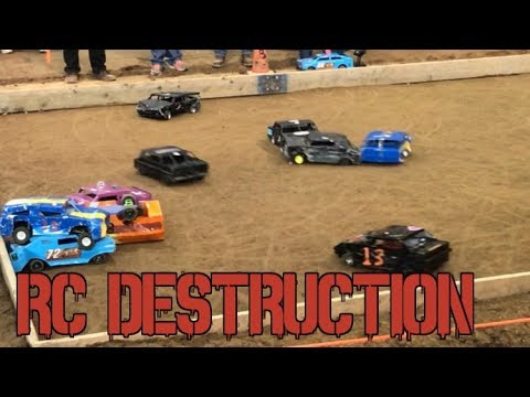 RC Demolition Derby || RC Car Racing || Motorama 2018
