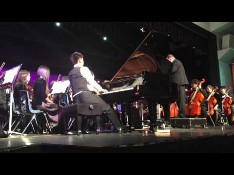 Edvard Greig piano concerto/Diamond High School/Walter Chang