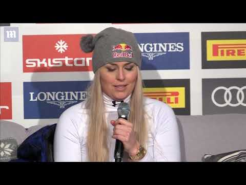 Lindsey Vonn announces her retirement after winning bronze medal